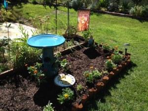 birdbath garden2