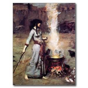 witch casting circle